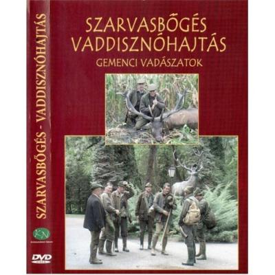 Dr. Ignácz Magdolna: Szarvasbőgés vaddisznóhajtás - Gemenci vadászatok DVD